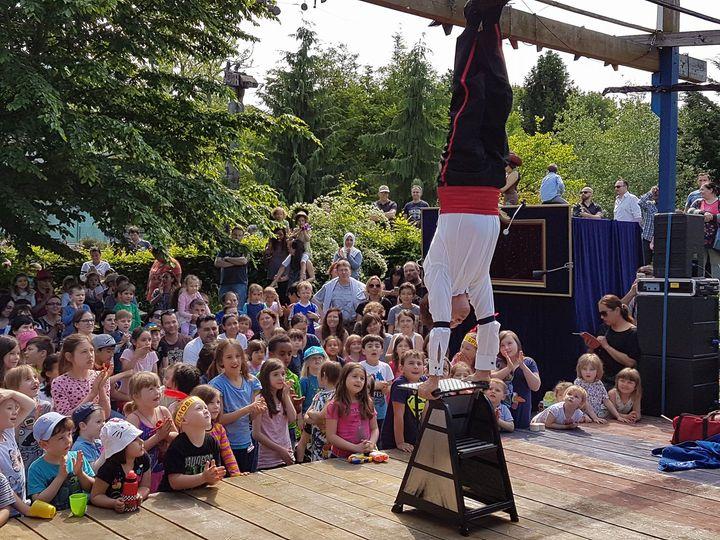 Kindergeburtstag Puppentheater Kinderschminken Akrobat Show