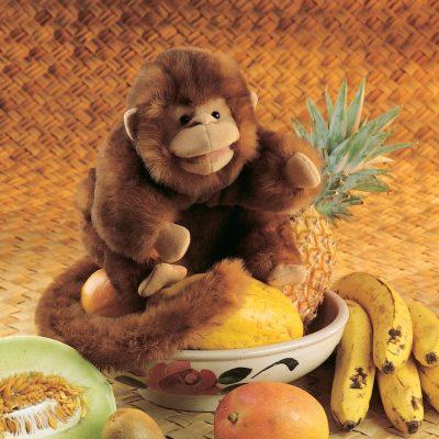 Der lustige Affe