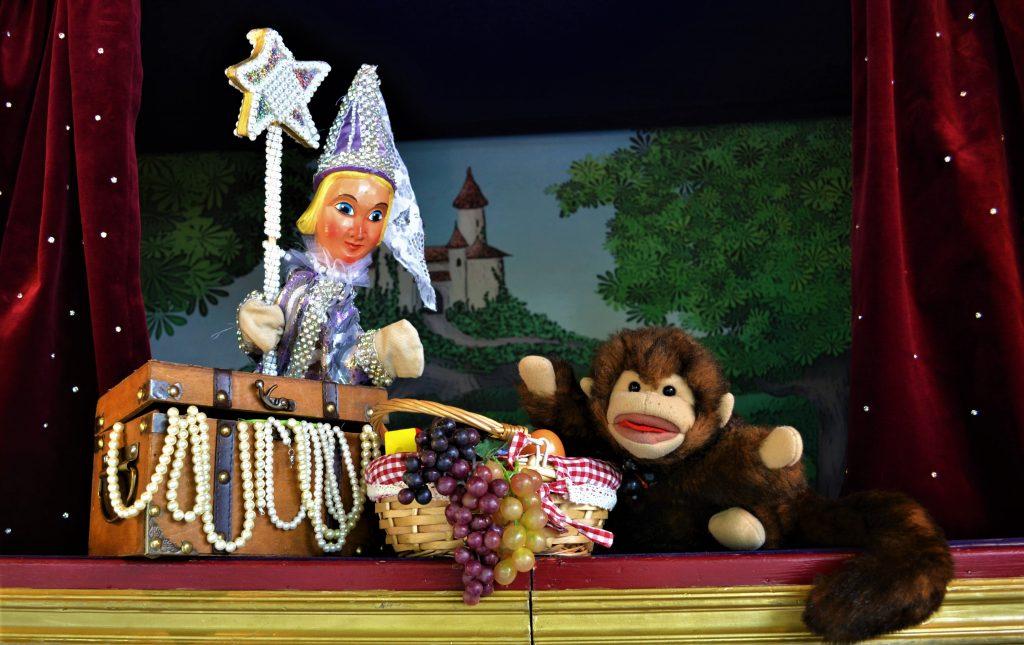 Kindergeburtstag Puppentheater Kinderschminken