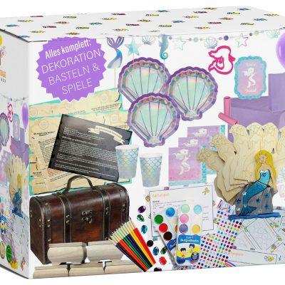Kindergeburtstag-Box Meerjungfrau Party