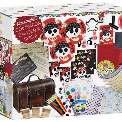 Kindergeburtstag Piraten Party Box 6-10 Kinder