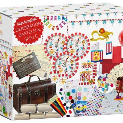 Kindergeburtstag-Box Zirkus Party