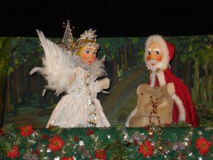 Puppentheater mieten Der neugierige Weihnachtsengel