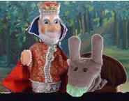 Puppentheater König Ziebelbart sieht rot