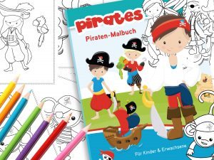 Piraten Malbuch Download