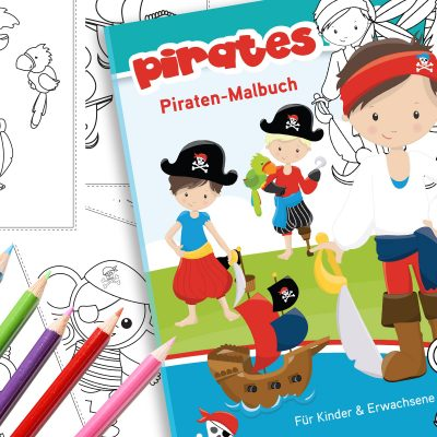 Piraten Malbuch Download